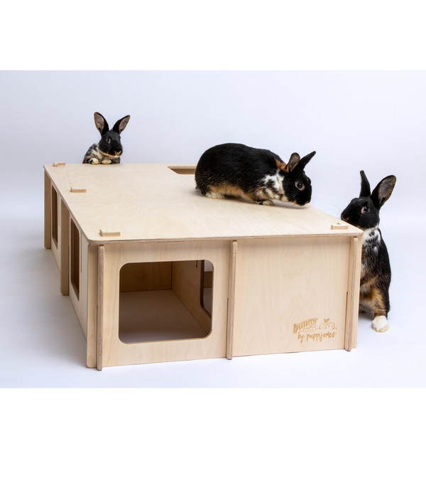 bunny® NATURE by puppijames Nagerspielzeug Labyrinth