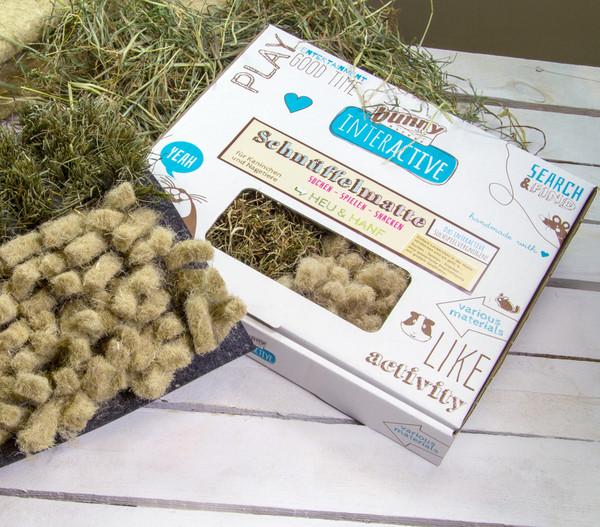 bunny® Schnüffelmatte Heu & Hanf