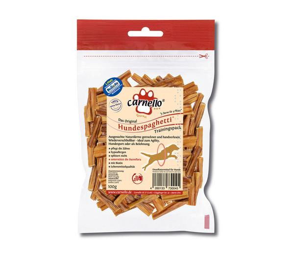 Carnello Hundesnack Hundespaghetti Trainigspack, 100g