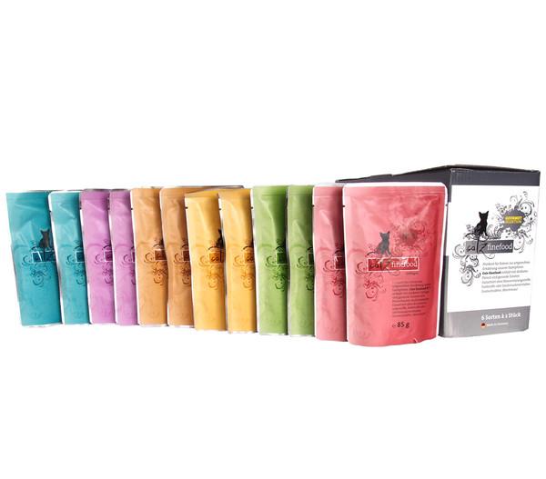 Catz Finefood Multipack No. 3-13, Nassfutter, 12 x 85g