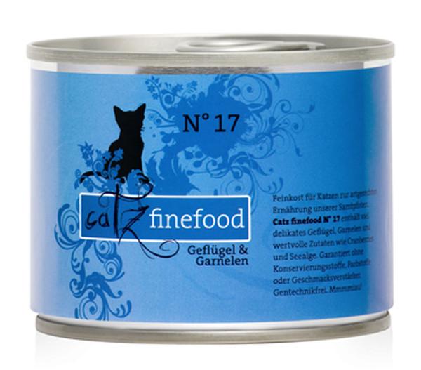catz finefood Nassfutter, 6 x 200g