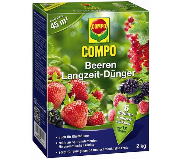 COMPO Beeren Langzeit-Dünger, 2 kg