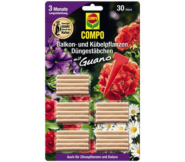 COMPO Düngestäbchen für Balkon- und Kübelpflanzen