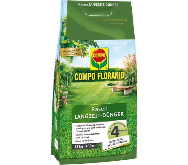 COMPO Floranid® Rasen Langzeit-Dünger, 12 kg