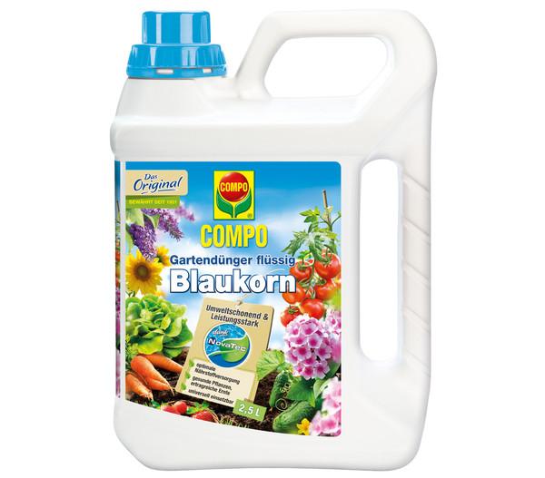 COMPO Gartendünger Blaukorn® NovaTec® flüssig, 2,5 l
