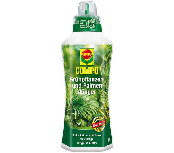 COMPO Grünpflanzen- und Palmendünger, flüssig, 1 l