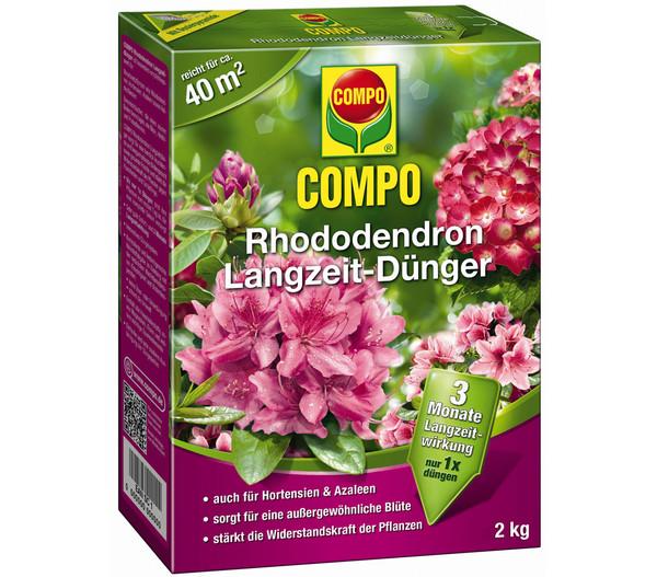 COMPO Rhododendron Langzeit-Dünger, 2 kg