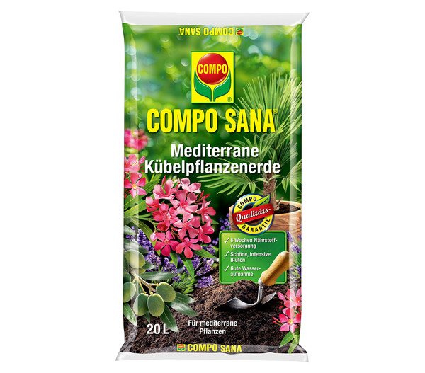 COMPO SANA Mediterrane Kübelpflanzenerde, 20 l