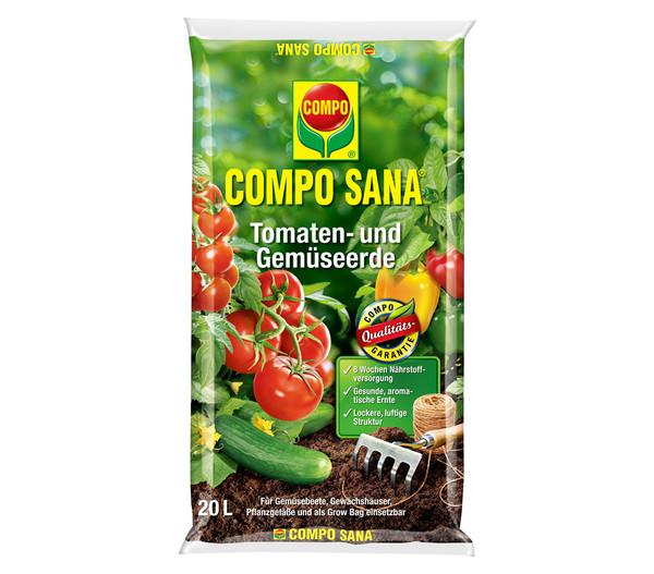COMPO SANA Tomaten- und Gemüseerde, 20 l