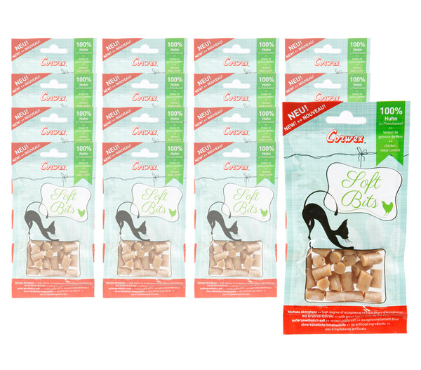 Corwex Katzensnack Soft-Bits, 16 x 30g