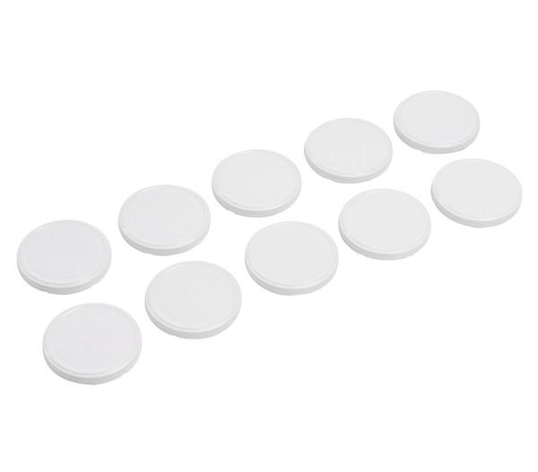 Deckel weiß, 100 mm, 10 Stk.