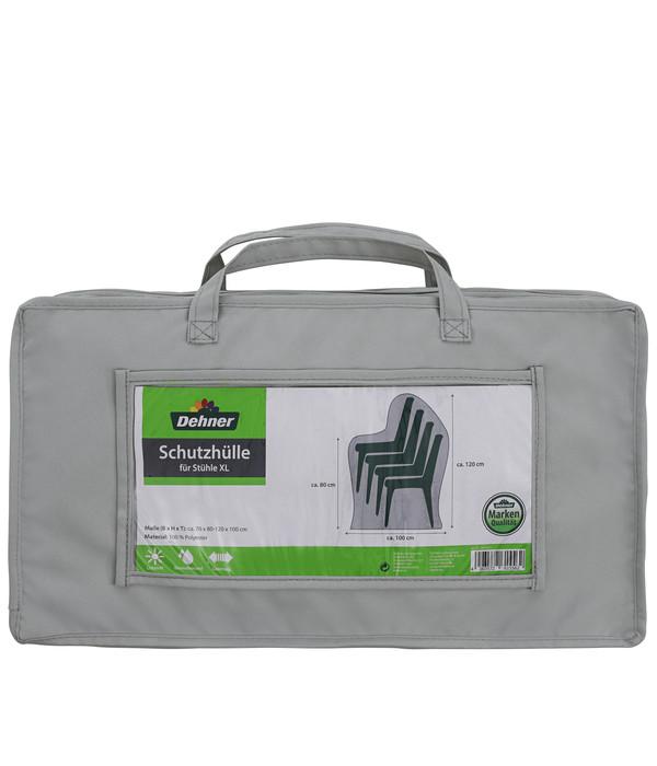 Dehner Abdeckhaube XL für Stühle, 70x120x100 cm, grau