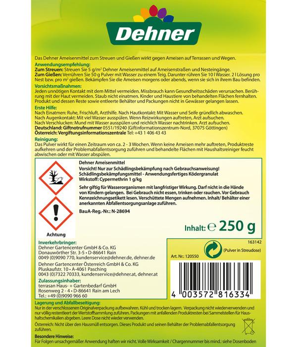 Dehner Ameisenmittel