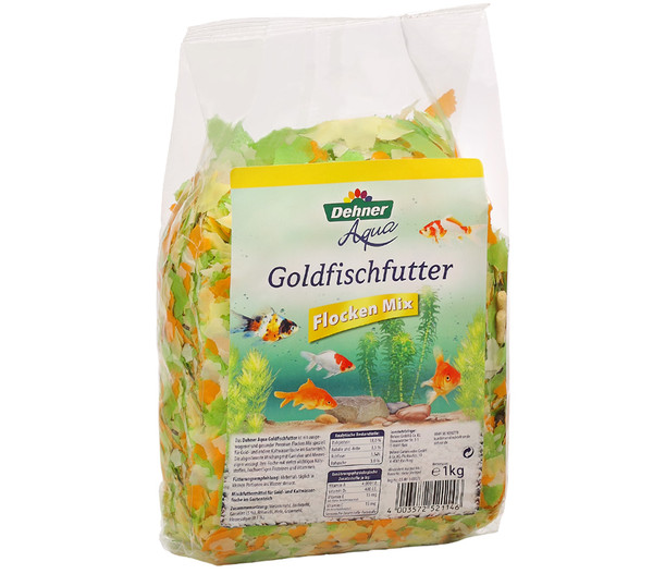 Dehner Aqua Goldfischfutter Flocken Mix