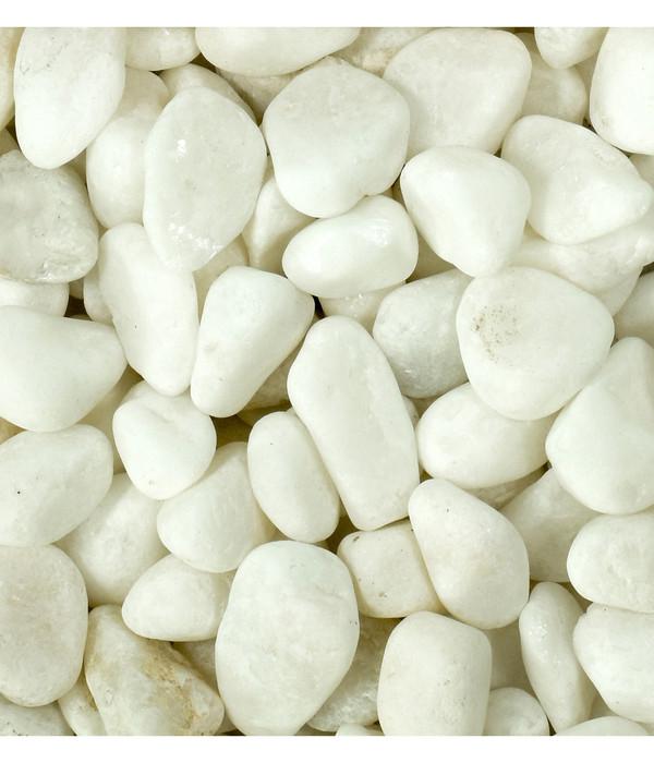 Dehner Aqua Premium Naturkies White Pearl, 4-8 mm