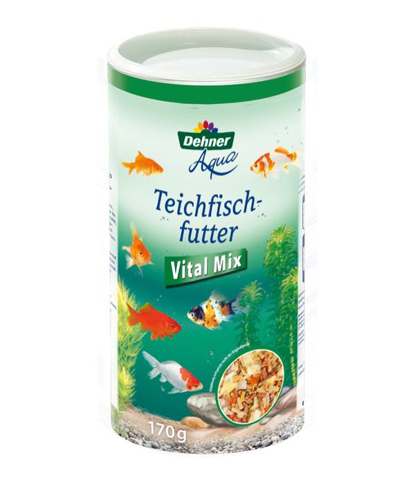 Dehner Aqua Teichfischfutter Vital Mix, 170 g