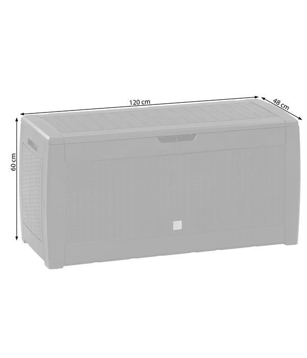 Dehner Aufbewahrungsbox Rato, 119 x 48 x 60 cm
