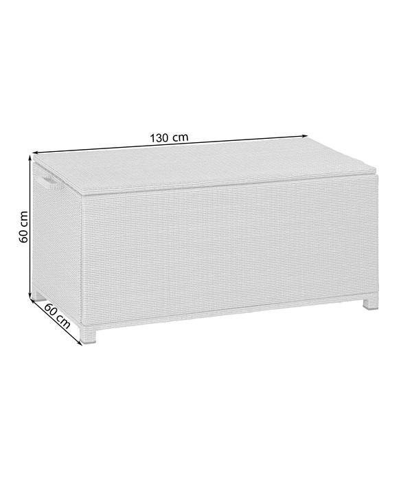 Dehner Aufbewahrungsbox Tessin, 130 x 60 x 60 cm