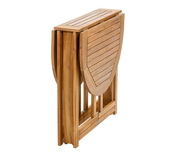 Dehner Balkon-Klapptisch 'Macao', oval