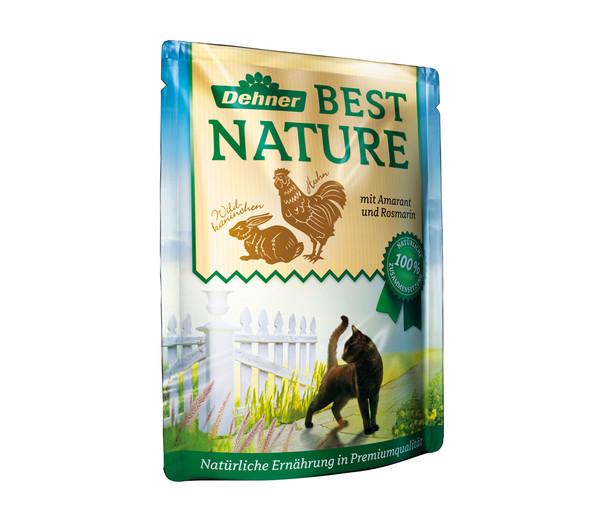 Dehner Best Nature Adult, Nassfutter, Multipack, 8 x 85g