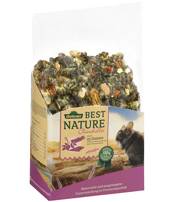 Dehner Best Nature Chinchillafutter, 2 kg