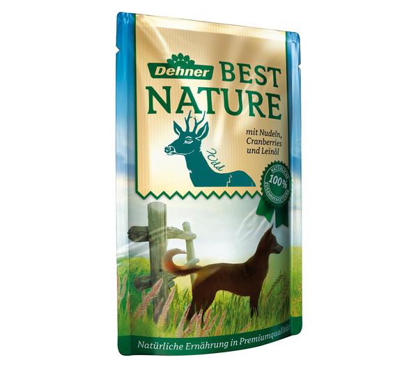 Dehner Best Nature für Hunde, Adult, Nassfutter, 12 x 150g
