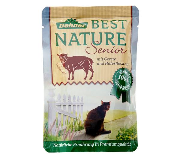 Dehner Best Nature für Katzen, Senior, Nassfutter, 16 x 85g