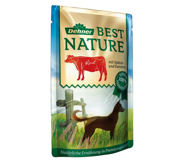 Dehner Best Nature Nassfutter Adult, 12x150 g