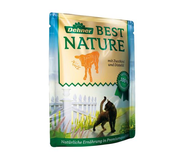 Dehner Best Nature Nassfutter Adult, Vorteilspack, 8x85 g