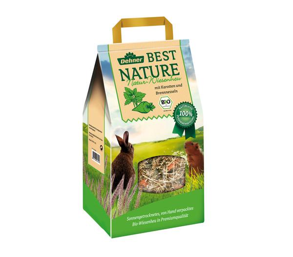 Dehner Best Nature Natur-Wiesenheu, mit Karotten, 1 kg