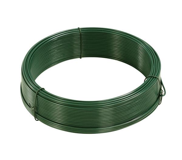 Dehner Bindedraht 2,0 mm, 50 m Rolle, dunkelgrün
