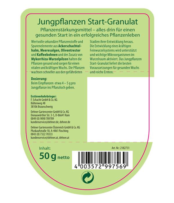 Dehner Bio Jungpflanzen Start-Granulat, 50 g