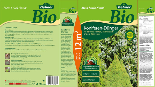 Dehner Bio Koniferen-Dünger, 1,5 kg