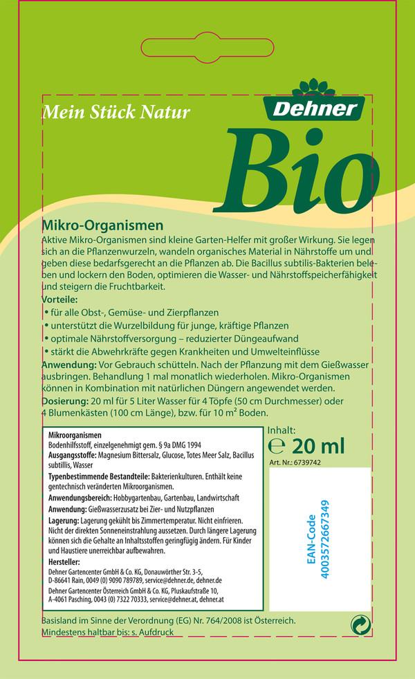 Dehner Bio Mikroorganismen, 20 ml