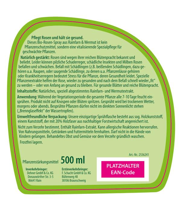 Dehner Bio Rosen-Spray, flüssig, 500 ml