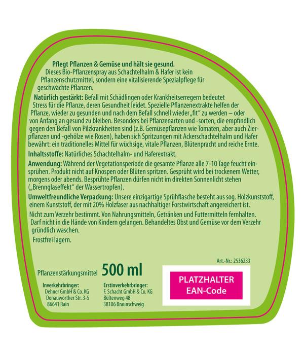 Dehner Bio Schachtelhalm & Hafer Spray, 500 ml