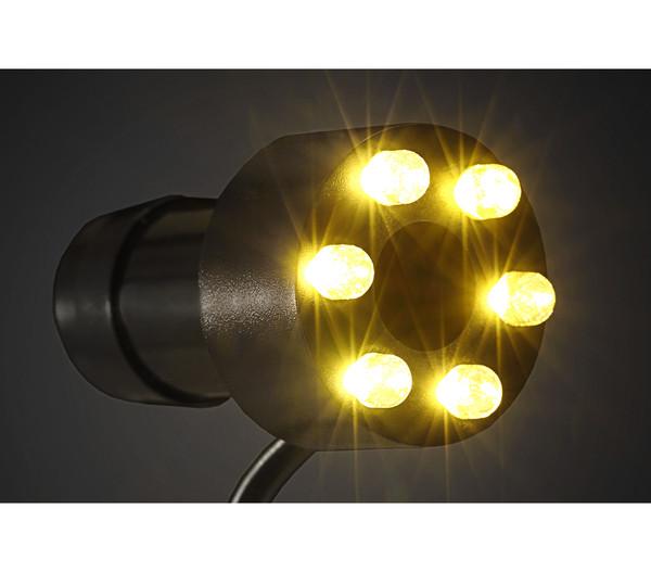 Dehner Brunnen-LED mit 1 Meter Kabel, warmweiß
