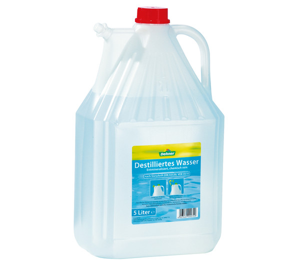Dehner Destilliertes Wasser, 5 Liter