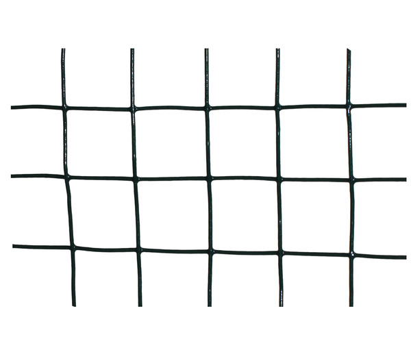 Dehner Drahtgitter, 12,7 mm, PVC-ummantelt, 0,5 x 5 m