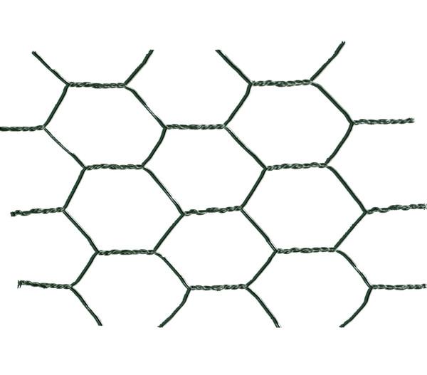 Dehner Drahtgitter, 13 mm, PVC-ummantelt, 0,5 x 10 m