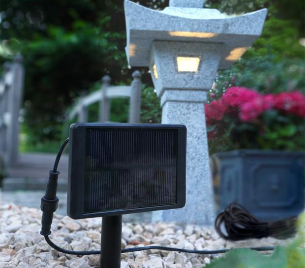 Dehner Ersatz Solar-LED-Beleuchtung
