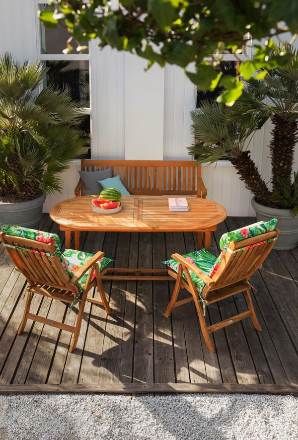 Dehner Gartenbank 'Havanna', 3-Sitzer