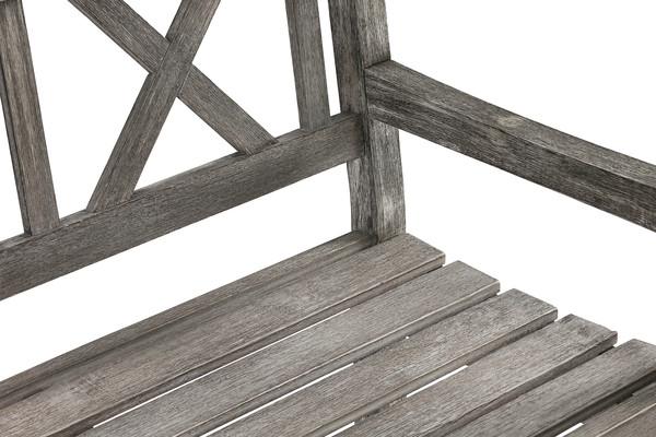 Dehner Gartenbank 'Paola', 3-Sitzer