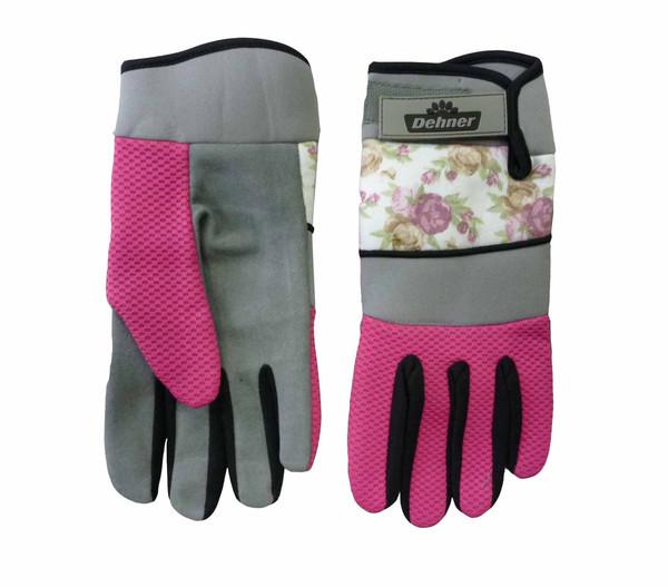 Dehner Gartenhandschuh mit Rosen, pink