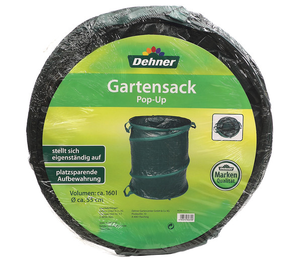 Dehner Gartensack Pop-Up, 160 l