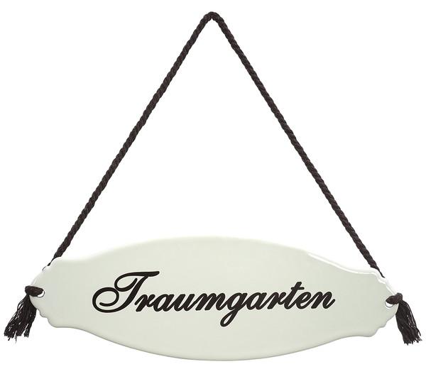 Dehner Gartenschild 'Traumgarten'