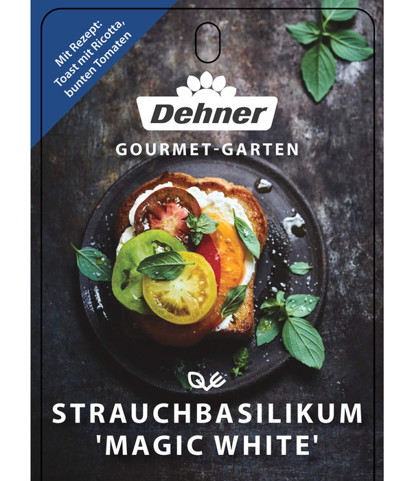 Dehner Gourmet Garten Basilikum 'Magic White'