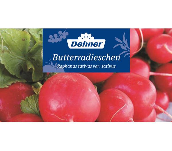 Dehner Gourmet Garten Butterradieschen, 20er Schale