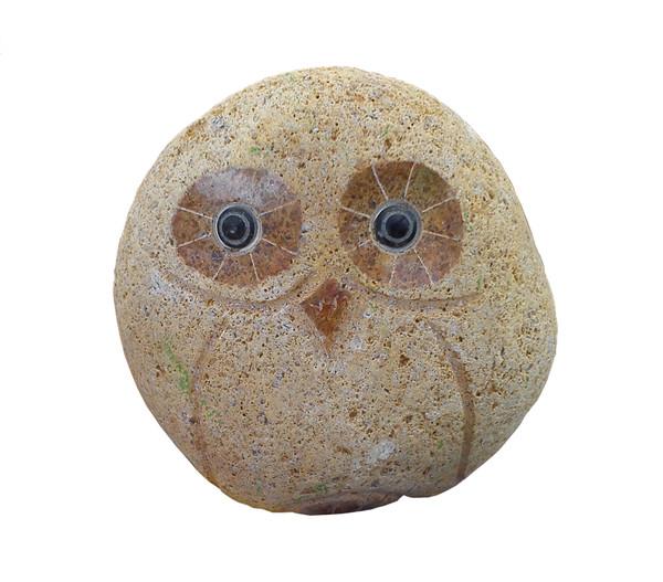 Dehner Granit Eule, braun