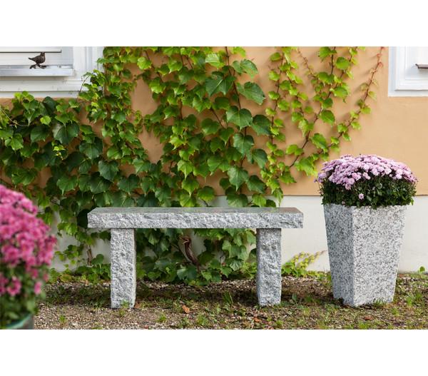 Dehner Granit Gartenbank 2 Sitzer Dehner